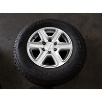 FORD RANGER XLT PX SERIES 1  17 X 8 INCH ALLOY WHEEL WITH 265/65/17 TYRE
