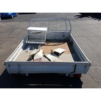 EXTRA CAB STEEL UTE TRAY BACK