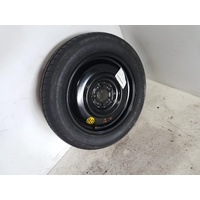FORD FALCON FG MKI-MKII  17 X 4 INCH STEEL WHEEL WITH T155/80/17 TYRE 131673