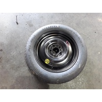 FORD FALCON FG MKI-MKII  17 X 4 INCH STEEL WHEEL WITH T155/80/17 TYRE 131859