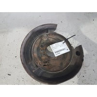 TOYOTA LANDCRUISER RHR  DISC BRAKE BACKING PLATE