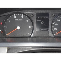 FORD FALCON FG MKII XT INSTRUMENT CLUSTER