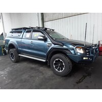 FORD RANGER PX  REAR TAILGATE GREEN GLASS
